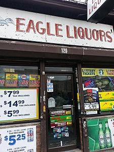 Eagle Liquors in Passaic
