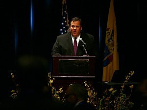 Governor Christie in Atlantic City