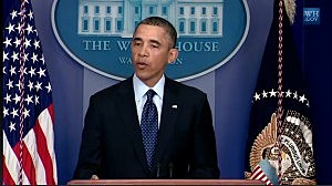 President Obama holds a press conference on budget sequester