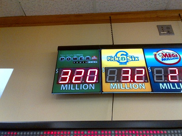 Powerball jackpot displayed at Quick Chek in Lawrenceville