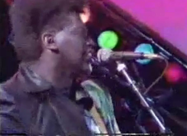 American Idol Judge Randy Jackson With Journey In 1986