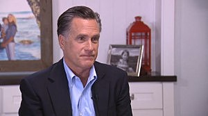 Mitt Romney interviewed by Fox News' Chris Wallace
