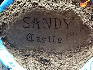 Sandy Castle at at Jenkinson's Pavilion in Point Pleasant Beach