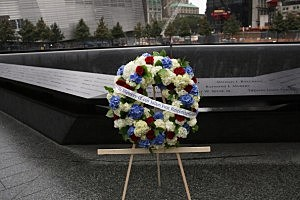 September 11 Memorial at the World Trade Center site