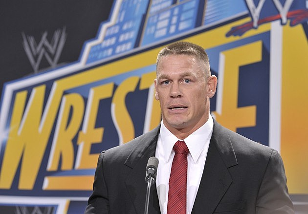 WWE Superstar John Cena will be one of the many talents at Wrestlemania 29