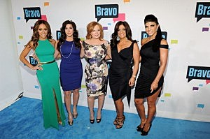(L-R) Melissa Gorga, Jacqueline Laurita, Caroline Manzo, Kathy Wakile, and Teresa Giudice of 'The Real Housewives of New Jersey'