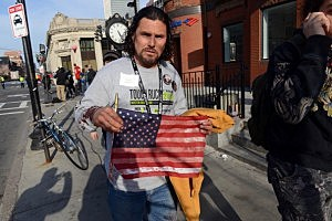 Carlos Arredondo, who was at the finish line of the 117th Boston Marathon
