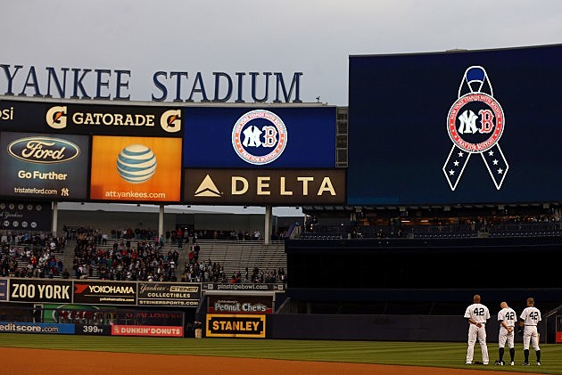 New York Yankees honor the fallen in Boston