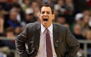 Mike Rice as head coach at Robert Morris in 2009