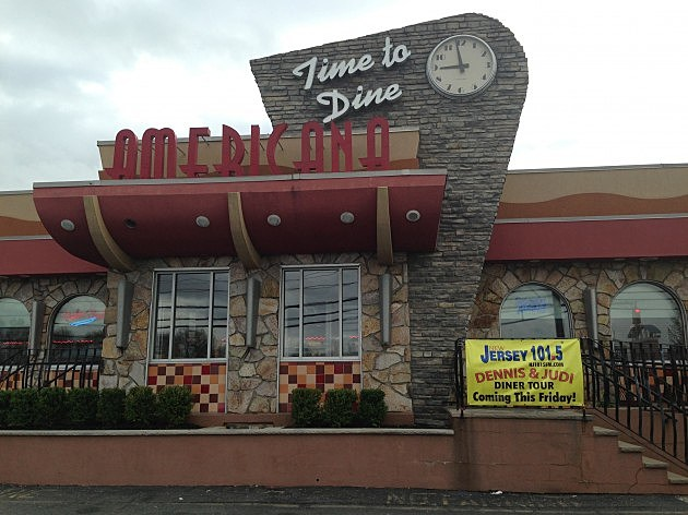 Americana Diner - the 3rd stop on the Dennis & Judi Diner Tour