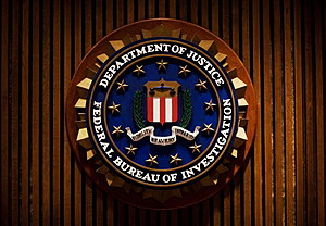 A crest of the Federal Bureau of Investigation