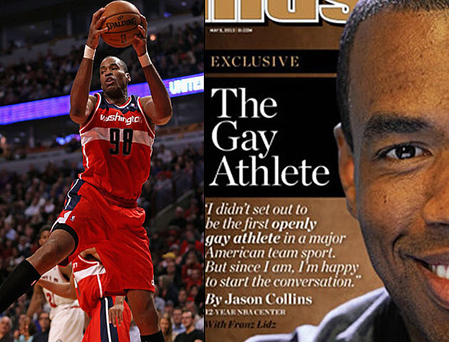 Jason Collins - 1st pro Athlete to Announce He is Gay