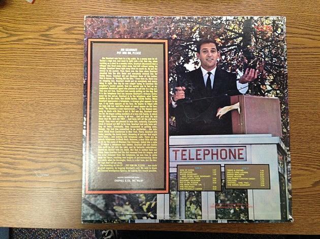 Jim Album  Put Him On Please - Back Cover