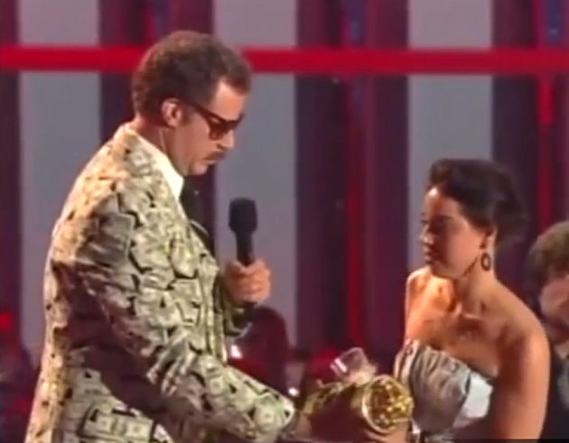 Will Ferrell Gets a surprise interruption during the MTV Movie Awards