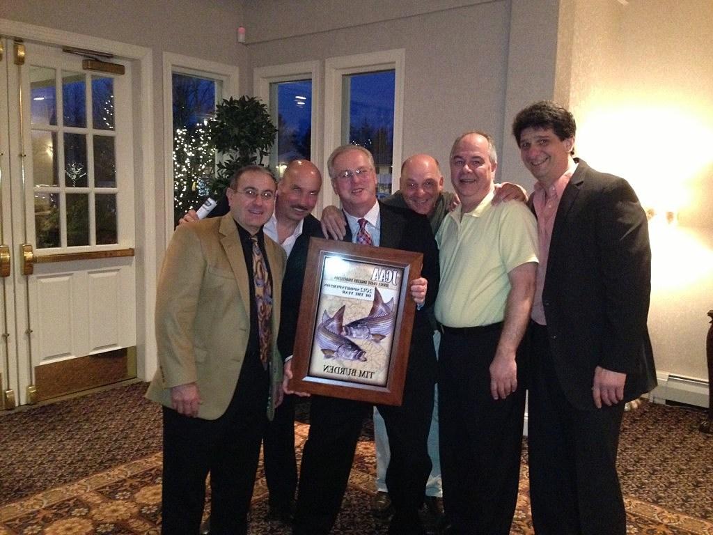 Tim Burden receives JCAA Sportsman of the Year