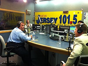 Governor Christie during April's Ask The Governor
