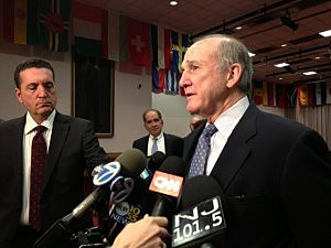 Rutgers University President Robert Barchi