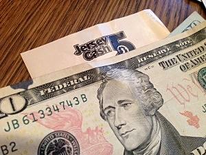 Cash 5 ticket