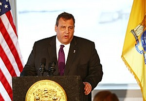 Governor Christie in Long Branch