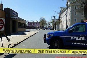 Police respond to the NJ Transit bus station for an unattended package