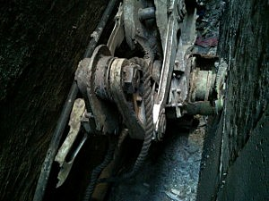 Possible landing gear from a 9/11 plane found in lower Manhattan (NYPD)