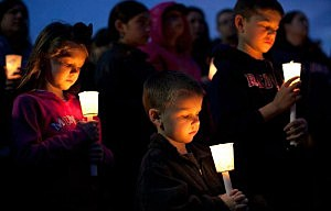 A vigil in Dorchester for Martin Richard