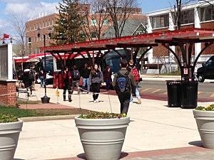 Rutgers campus, College Avenue