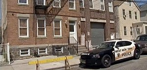 Police outside West New York, NJ home of Ailina Tsarnaeva, sister to Boston Marathon suspects