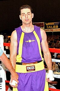Tamerlan Tsarnaev waits for a decision in the 201-pound division boxing match during the 2009 Golden Gloves National Tournament of Champions