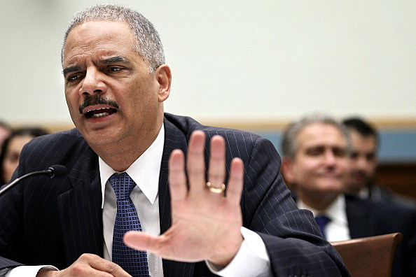 Attorney General Eric Holder testifies during a hearing before the House Judiciary Committee