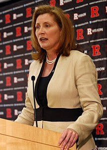 Should Rutgers stick with New Athletic Director Julie Hermann?