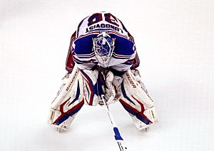 Henrik Lundqvist following Ranger loss to Bruins in game 5.