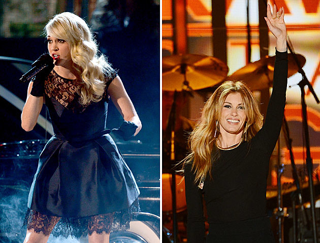 Faith Hill being replaced by Carrie Underwood for the NFL Sunday Night Football Theme