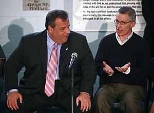 Governor Christie and Governor Jim McGreevey