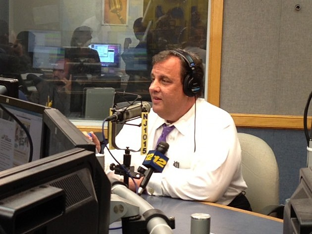 Governor Chris Christie in studio for May's Ask the Governor