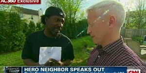 Charles Ramsey talks to CNN's Anderson Cooper
