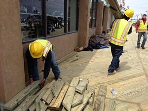 Rebuilding the Seaside Heights boardwalk