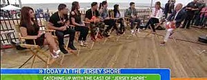 Jersey Shore cast on Today Show