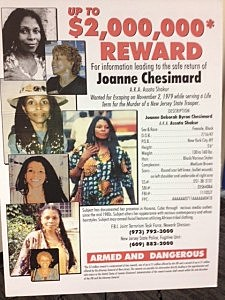 Poster about Joanne Chesimard