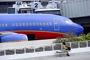 Southwest Airlines jetliner