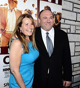 Lorraine Bracco and James Gandolfini