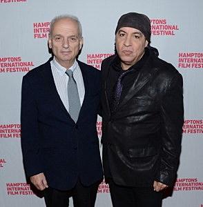David Chase and Steven Van Zandt