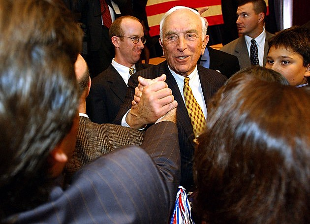 Frank Lautenberg (Photo by Stephen Chernin/Getty Images)