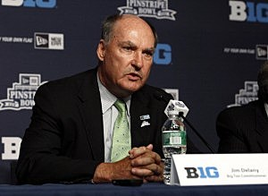 Jim Delany, Commissioner of the Big Ten Conference