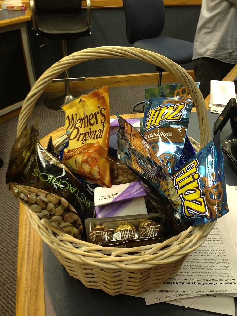 Gift Basket for Dennis and Judi