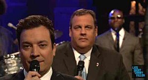 "Chris Christie ""slow jams"" the news with Jimmy Fallon"