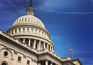 Flag at half-staff in honor of the late Senator Frank Lautenberg