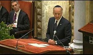 Vice President Joe Biden speaks at Frank Lautenberg's funeral