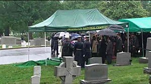 Frank Lautenburg laid to rest at Arlington National Cemetary