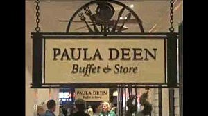 Paula Deen's Buffet in Caesar's in Tunica, Tennessee